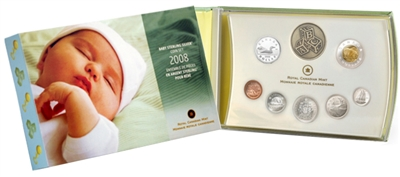 2008 Canada Baby Premium Sterling Silver Proof Set