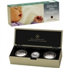 2008 Canada Baby Keepsake Tins and Sterling Silver Dollar