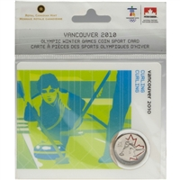 2007 Canada 25-cent Curling - Petro-Canada Vancouver Olympics Card