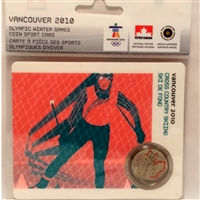 2009 Canada 25-cent Cross Country Skiing - Petro-Canada Vancouver Olympics Card