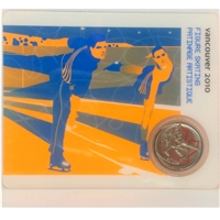 2008 Canada 25-cent Figure Skating - Petro-Canada Vancouver Olympics Card 8/15
