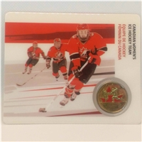 2009 Canada 25-cent Women's Ice Hockey - Petro-Canada Vancouver Olympics Card 13/15