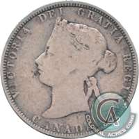 1870 Canada 25-cents G-VG (G-6)