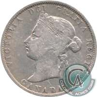 1900 Canada 25-cents VG-F (VG-10)