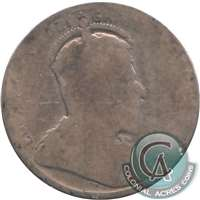 1902H Canada 25-cents Filler