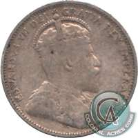 1904 Canada 25-cents VG-F (VG-10)