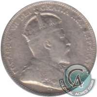 1907 Canada 25-cents F-VF (F-15)