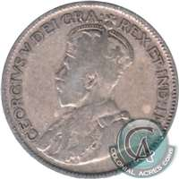 1916 Canada 25-cents G-VG (G-6)