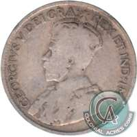 1921 Canada 25-cents Good (G-4)