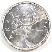 1939 Canada 25-cents Brilliant Uncirculated (MS-63) $