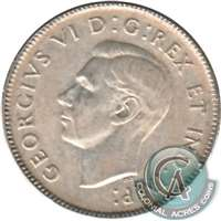 1940 Canada 25-cents F-VF (F-15)