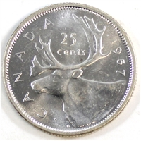 1957 Canada 25-cents Brilliant Uncirculated (MS-63)