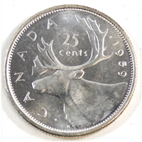 1959 Canada 25-cents Brilliant Uncirculated (MS-63)