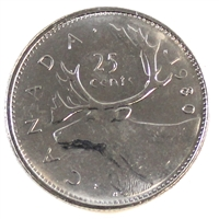 1980 Canada 25-cents Brilliant Uncirculated (MS-63)