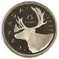 1985 Canada 25-cents Proof