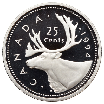 1994 Canada 25-cents Proof