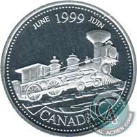 1999 Canada June 25-cents Silver Proof