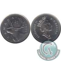 1999P (test) Canada Caribou 25-cents Brilliant Uncirculated (MS-63)