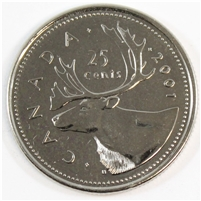 2001P Canada 25-cents Proof Like