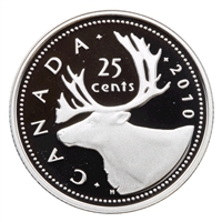 2010 Canada 25-cents Silver Proof