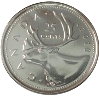 2010 Canada Caribou 25-cents Proof Like