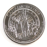 2013 Canada Arctic Expedition 25-cents Brilliant Uncirculated (MS-63)