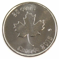 2013 Oh Canada 25-cents Brilliant Uncirculated (MS-63)