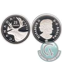 2015 Canada 25-cents Silver Proof