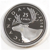 2016 Canada 25-cents Silver Proof