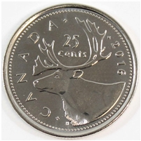 2016 Canada Caribou 25-cents Brilliant Uncirculated (MS-63)