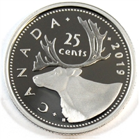 2019 Canada 25 Cents Silver Proof