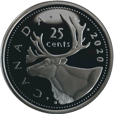 2020 Canada 25-cents Proof (non-silver)