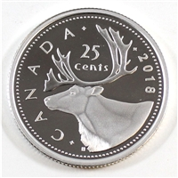2018 Canada 25 Cents Silver Proof
