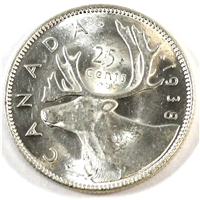 1938 Canada 25 Cents UNC+ (MS-62) $
