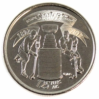 2017 Stanley Cup Canada 25 Cents Brilliant Uncirculated (MS-63)
