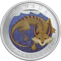2011 25-cent Canadian Mythical Creatures - Mishepishu