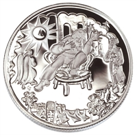 2002 Canada 50-cent Folklore - The Shoemaker in Heaven Sterling Silver