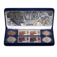 1953-2003 Canada Queen Elizabeth II Coronation Coin and Stamp Set.