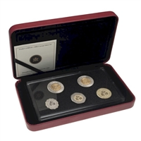 2006 Canada 10th Anniversary $2 coin - Concept Test Token Set.