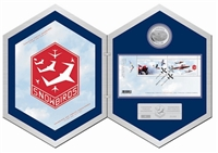 2006 Canada $5 Snowbirds Coin and Stamp Set (TAX Exempt).