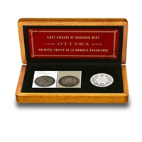 RDC 2008 Canada Royal Canadian Mint 100th Anniversary Coin & Stamp Set (Impaired)