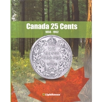 Vista Book Canada 25-cents (1858-1952) Volume 1
