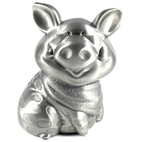 Money Bank: Pig with Bandana. Bring home the bacon with this money bank!