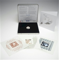 2000 Canada Post Millennium Official Keepsake with Dove Token & Stamps