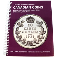 Charlton Standard Catalogue Canadian Coins - Volume 1 - 67th Edition.
