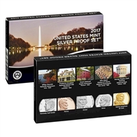 2017 USA Silver Proof Set
