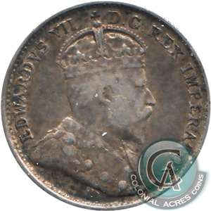 1903H Small H Canada 5-cents VF-EF (VF-30)