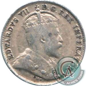 1904 Canada 5-cents VG-F (VG-10)