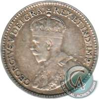 1912 Canada 5-cents F-VF (F-15)