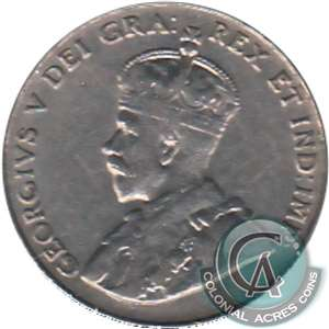 1929 Canada 5-cents Very Fine (VF-20)